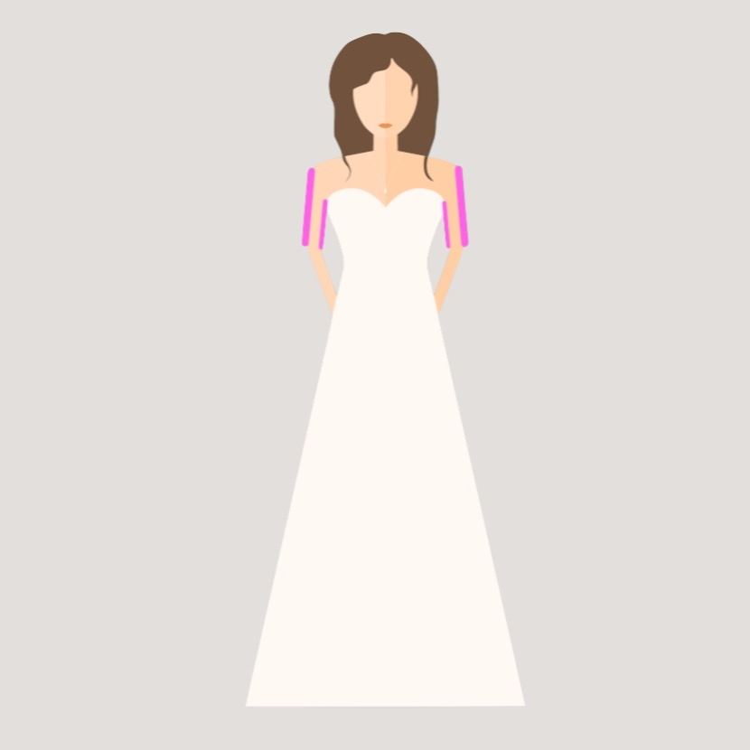 Brautkleid A-Line